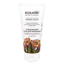 Гель для умывания очищающий Гладкость & Красота Organic Cactus, 100 мл
