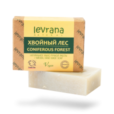 Натуральное мыло Хвойный лес levrana, 100 гр