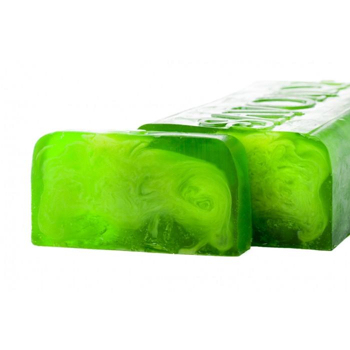 Мыло натуральное ручной работы ТЕКИЛА-ЛАЙМ (лимон и лайм), 100 гр