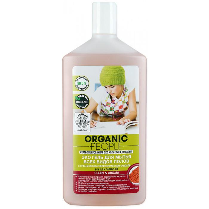 Гель Organic People Эко для мытья всех видов полов, 500 мл