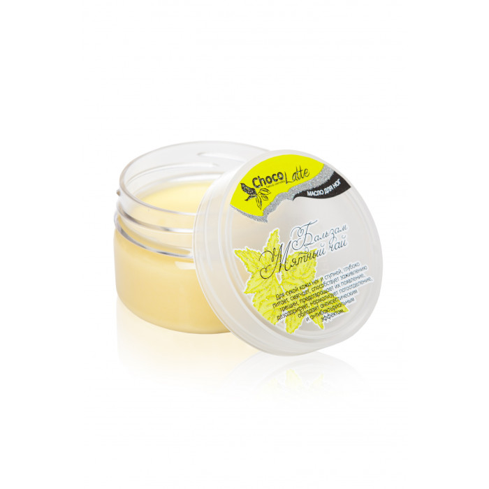 БАЛЬЗАМ-масло для ног МЯТНЫЙ ЧАЙ, для сухой кожи,против трещин и потливости ног, 60 мл