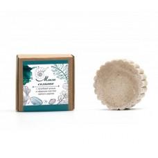 Соляное мыло с лечебной грязью и эфирным маслом чайного дерева Живица, 80 гр