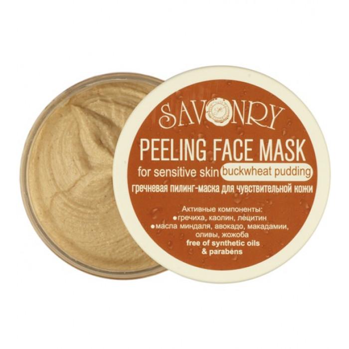 Пилинг-маска для лица Гречневый пудинг (для чувствит. кожи), 150 гр