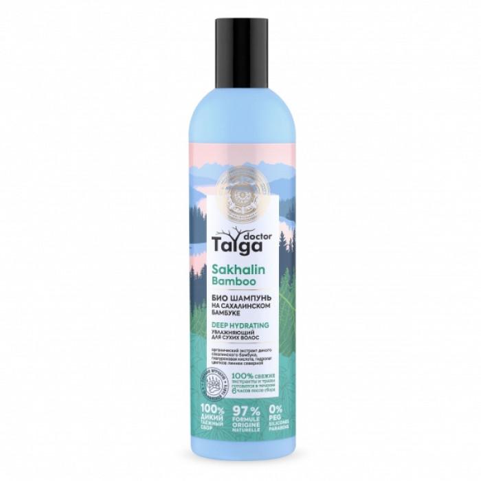 Doctor Taiga Шампунь-био Увлажняющий для сухих волос, 400 мл