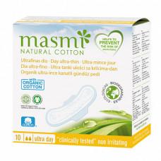 Ультратонкие дневные гигиенические прокладки Soft из натурального хлопка, 10 шт