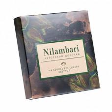 Шоколад Nilambari на кэробе светлый без сахара, 65 гр
