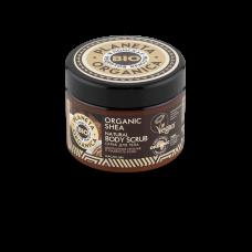 Скраб для тела натуральный Organic shea, 420 гр