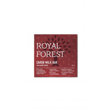 Шоколад из кэроба Royal Forest с лесными орехами, 75 гр