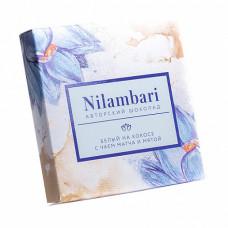 Шоколад Nilambari белый с чаем матча и мятой, 65 гр