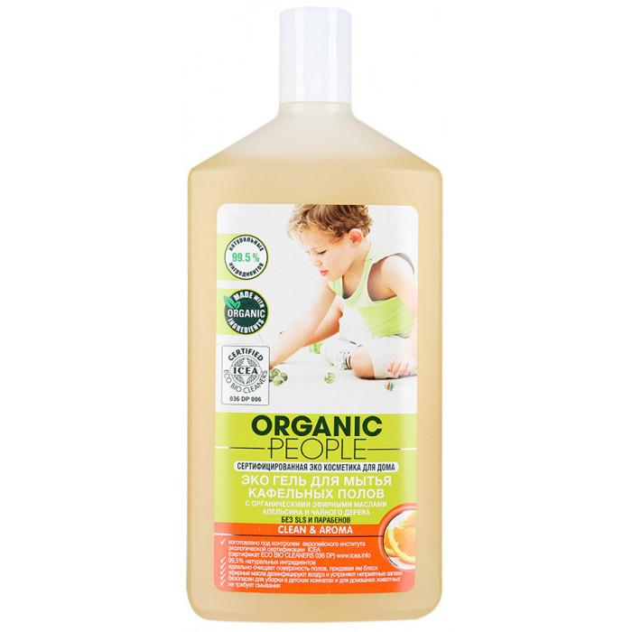 Гель Organic People Эко для мытья кафельных полов, 500 мл