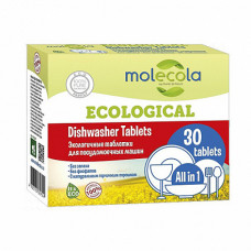 Таблетки для посудомоечных машин (экологичные), 30 шт