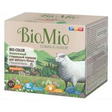Стиральный порошок BioMio BIO-Color экологичный для цветного белья с экстрактом хлопка концентрат, 1,5 кг
