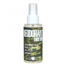 Натуральный дезодорант Men Only с маслом черного тмина и экстрактом морских водорослей, 100 мл