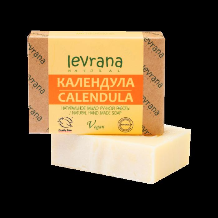 Натуральное мыло Календула levrana, 100 гр