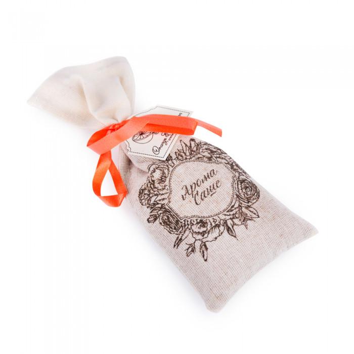 Аромасаше ОRANGE&CINNAMON (апельсин и корица), в тканевом мешочке, h160*70 мм