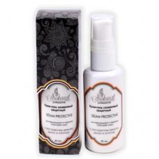 Крем-гель сезамовый защитный для нормального и жирного типа кожи с экстрактом мякоти дыни и хлопка, 50 мл