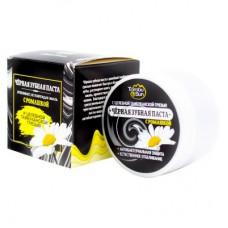 Чёрная зубная паста с Ромашкой, 70 мл