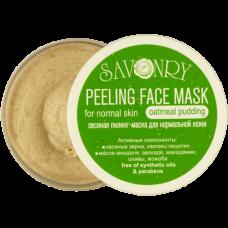 Пилинг-маска для лица Овсяный пудинг (для нормального типа кожи), 150 гр