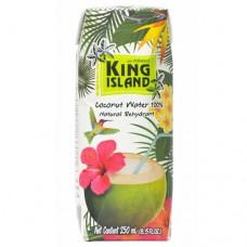 100 % Кокосовая вода без сахара KING ISLAND, 250 мл