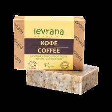 Натуральное мыло Кофе levrana, 100 гр