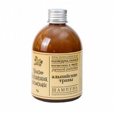 """Шампунь """"Альпийские травы"""" для поврежденных волос, 250 мл"""