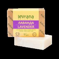 Натуральное мыло Лаванда levrana, 100 гр