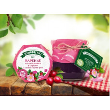Варенье из шиповника в розовом сиропе, 250 гр