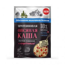 """Каша протеиновая """"Овсяная с клубникой"""", 40 гр"""