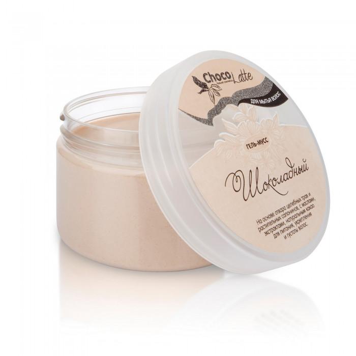 Гель-крем для мытья волос МУСС ШОКОЛАДНЫЙ с какао, 75 мл