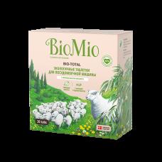 Экологичные таблетки BioMio для посудомоечной машины 7в1 с эфирн маслом эвкалипта, 30 шт