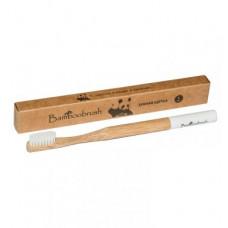 Зубная щетка Bamboobrush из бамбука (средняя жесткость)