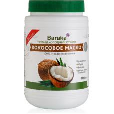 Кокосовое масло Baraka Вирджин Нерафинированное, 1000 мл