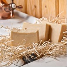 Натуральное мыло Мамина забота (отвар ромашки и петрушки, ЭМ лаванды), 120 гр