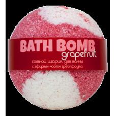 Шарик для ванн GRAPEFRUIT (с эфирным маслом грейпфрута), 120 гр