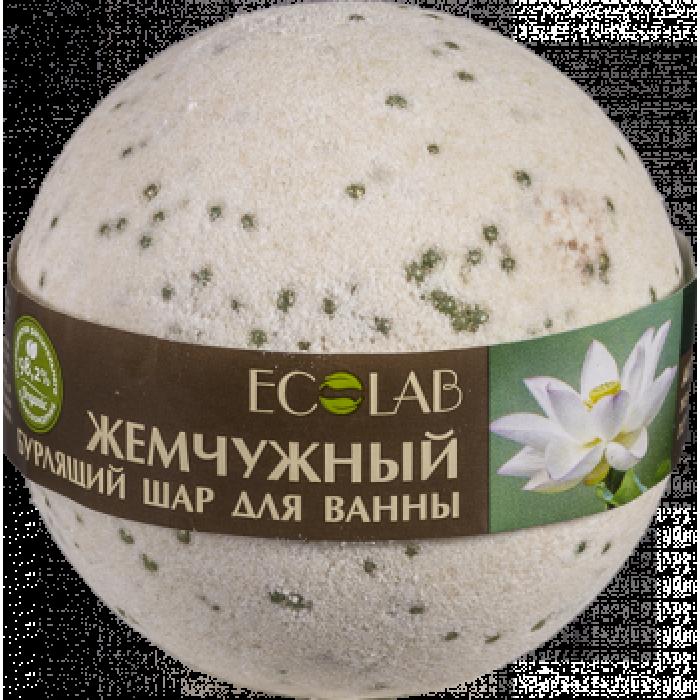 """Бурлящий шар для ванны """"Белый лотос и пальмароза"""", 220 гр"""