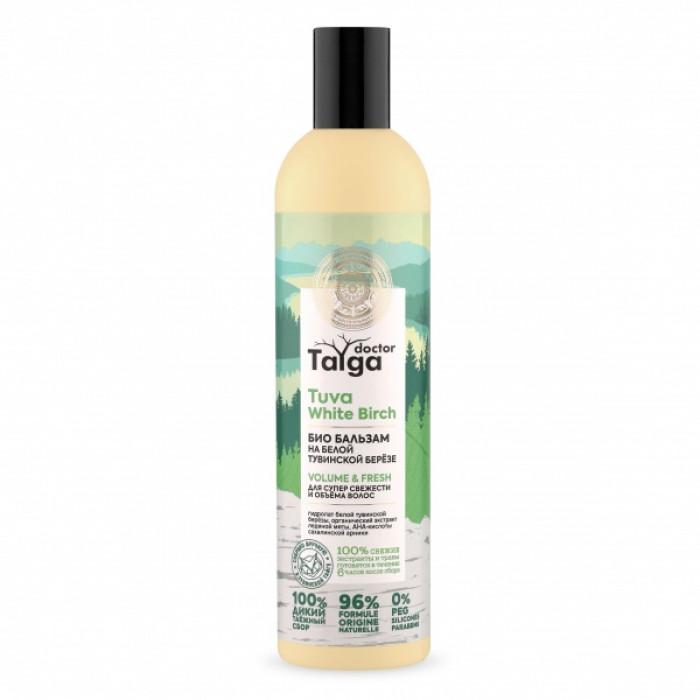 Doctor Taiga Бальзам-био Освежающий для супер свежести и объема волос, 400 мл