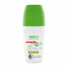 Дезодорант шариковый 24 часа с био-оливой и бамбуком, 50 мл