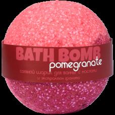 Шарик для ванн POMEGRANATE (с маслами и экстрактом граната), 120 гр