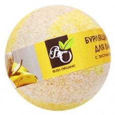 Бурлящий шар для ванн «Банан», 130 гр