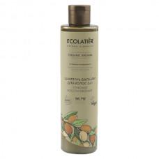 Шампунь-бальзам для волос 2в1 Глубокое Восстановление Organic Argana, 350 мл