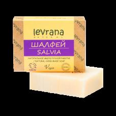 Натуральное мыло Шалфей levrana, 100 гр