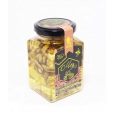 Акациевый мёд с грецким орехом, 300 гр