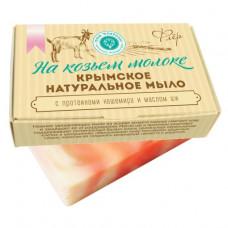 Мыло на козьем молоке для бритья женское Флер, 100 гр