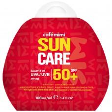 Крем для лица и тела солнцезащитный водостойкий SPF50+, 100 мл