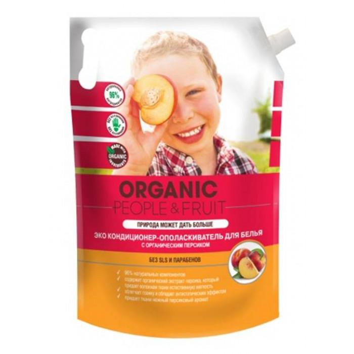 Кондиционер-ополаскиватель для белья ЭКО с органическим персиком, 2 л