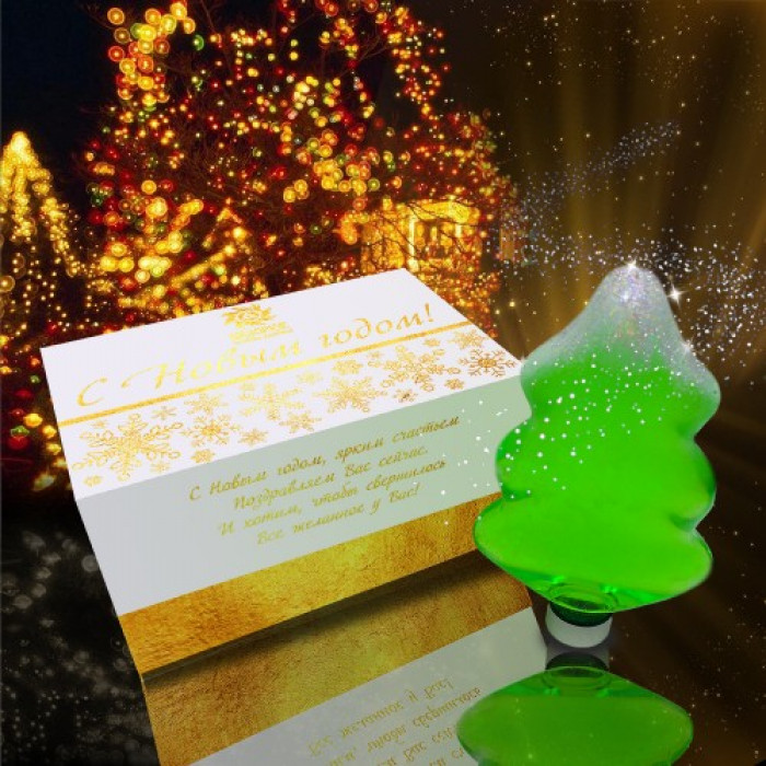 """Гель для душа """"Морозный вечер"""" в подарочной упаковке, 360 мл"""