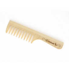 Расчёска с ручкой деревянная большая