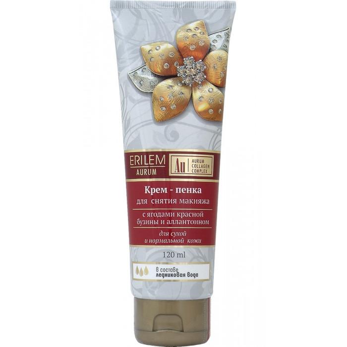 Крем - пенка для снятия макияжа с ягодами красной бузины и аллантоином 35+, 120 мл