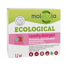 Экологичный стиральный порошок для цветного белья с растительными энзимами, 1,2 кг