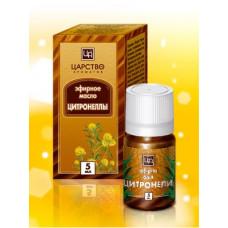 Эфирное масло цитронеллы Царство Ароматов, 5 мл